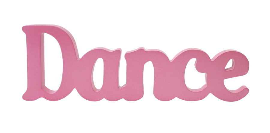 The Word Dance In Bubble Letters Party Graffiti
